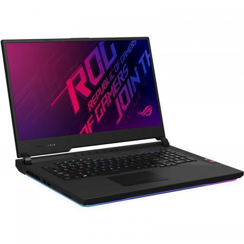 Laptop ASUS ROG Strix SCAR 17 G732LXS-HG074, Intel Core i9-10980HK, 17.3inch, RAM 32GB, SSD 1TB, nVidia GeForce RTX 2080 SUPER 8GB, No OS, Black