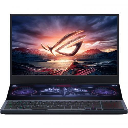 Laptop ASUS ROG Zephyrus DUO 15 GX550LXS-HC060T, Intel Core i9-10980HK, 15.6inch, RAM 32GB, 2x SSD 1TB, nVidia GeForce RTX 2080 Super Max-Q 8GB, Windows 10, Gunmetal Gray