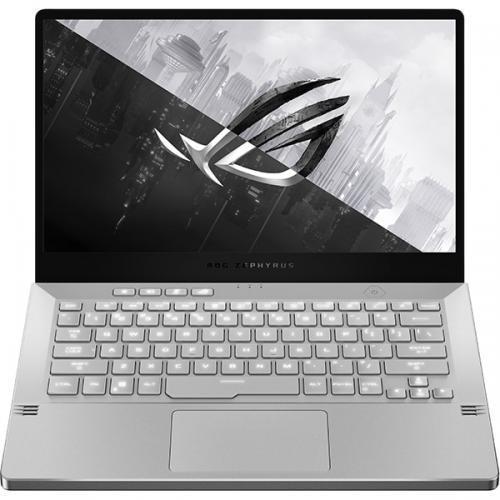 Laptop ROG Zephyrus G14 GA401IV-HA037, AMD Ryzen 9 4900HS, 14inch, RAM 16GB, SSD 1TB, nVidia GeForce RTX 2060 Max-Q 6GB, No OS, Moonlight White