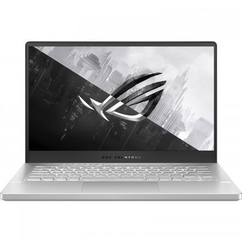 Laptop ROG Zephyrus G14 GA401IV-HA120R, AMD Ryzen 9 4900HS, 14inch, RAM 16GB, SSD 1TB, nVidia GeForce RTX 2060 Max-Q 6GB, Windows10 Pro, Moonlight White AniMe Matrix