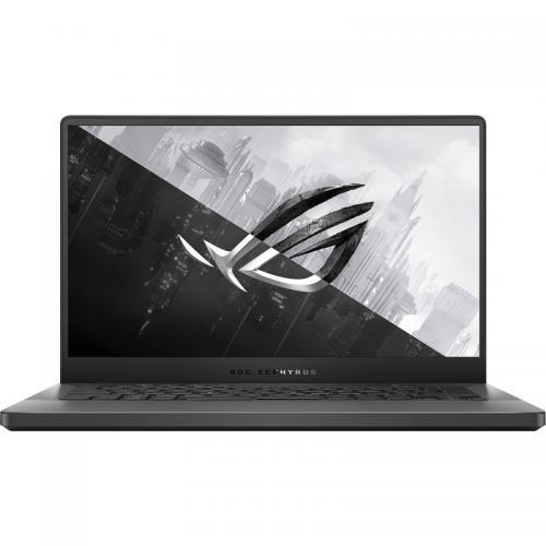 Laptop ASUS ROG Zephyrus G14 GA401IV-HA188T, AMD Ryzen 9 4900HS, 14inch, RAM 16GB, SSD 1TB, nVidia GeForce RTX 2060 Max-Q 6GB, Windows 10, Eclipse Gray AniMe Matrix