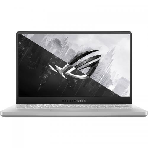 Laptop ASUS ROG Zephyrus G14 GA401IV-HE135T, AMD Ryzen 9 4900HS, 14inch, RAM 16GB, SSD 1TB, nVidia GeForce RTX 2060 Max-Q 6GB, Windows 10, Moonlight White AniMe Matrix