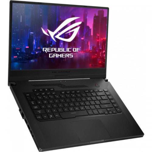 Laptop ASUS ROG Zephyrus G15 GA502IV-AZ040, AMD Ryzen 9 4900HS, 15.6inch, RAM 16GB, SSD 1TB, nVidia GeForce RTX 2060 6GB, No OS, Brushed Black