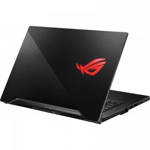 Laptop ASUS ROG Zephyrus G15 GA502IV-HN062, AMD Ryzen 9 4900HS, 15.6inch, RAM 16GB, SSD 512GB, nVidia GeForce RTX 2060 6GB, No OS, Brushed Black