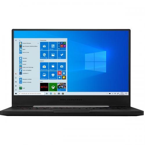 Laptop ASUS ROG Zephyrus M15 GU502LW-AZ044T, Intel Core i7-10750H, 15.6inch, RAM 16GB, SSD 1TB, nVidia GeForce RTX 2070 Max-Q 8GB, Windows 10, Black