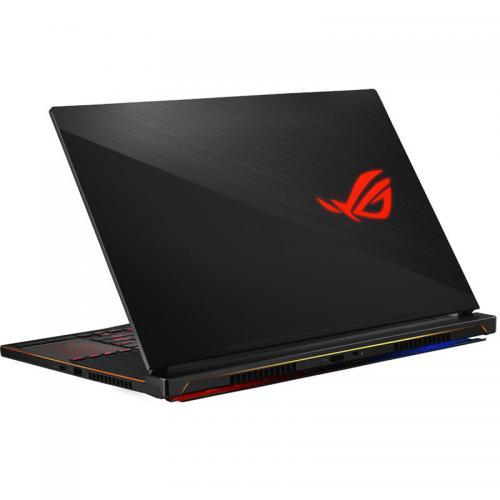 Laptop ASUS ROG Zephyrus S GX531GXR-AZ065T, Intel Core i7-9750H, 15.6inch, RAM 16GB, SSD 1TB, nVidia GeForce RTX 2080 8GB, Windows 10, Black