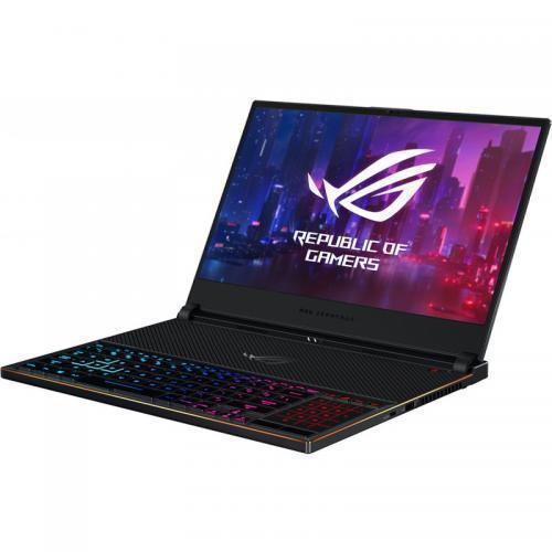 Laptop ASUS ROG Zephyrus S GX531GXR-AZ065T, Intel Core i7-9750H, 15.6inch, RAM 16GB, SSD 1TB, nVidia GeForce RTX 2080 8GB, Windows 10, Black