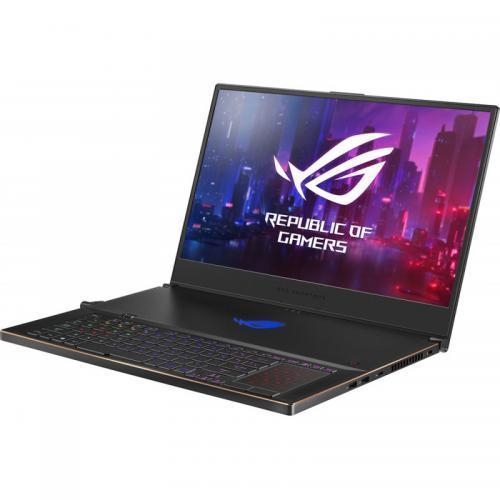 Laptop ASUS ROG Zephyrus S GX701GWR-HG118T, Intel Core i7-9750H, 17.3inch, RAM 16GB, SSD 1TB, nVidia GeForce RTX 2070 8GB, Windows 10, Black