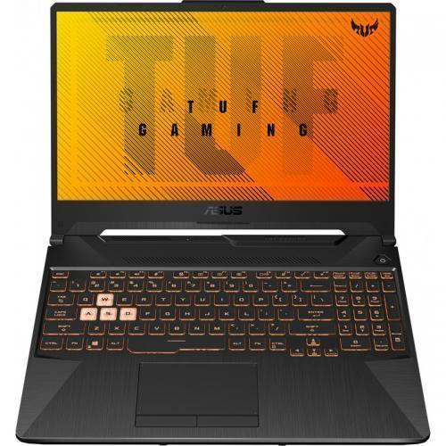 Laptop ASUS TUF A15 FA506IU-BQ078, AMD Ryzen 7 4800H, 15.6inch, RAM 8GB, SSD 512GB, nVidia GeForce 1660 Ti 6GB, No OS, Bonfire Black