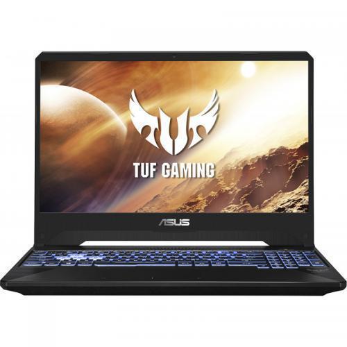 Laptop ASUS TUF Gaming FX505DU-BQ024, AMD Ryzen 7 3750H, 15.6inch, RAM 8GB, SSD 512GB, nVidia GeForce GTX 1660 Ti 6GB, No OS, Stealth Black