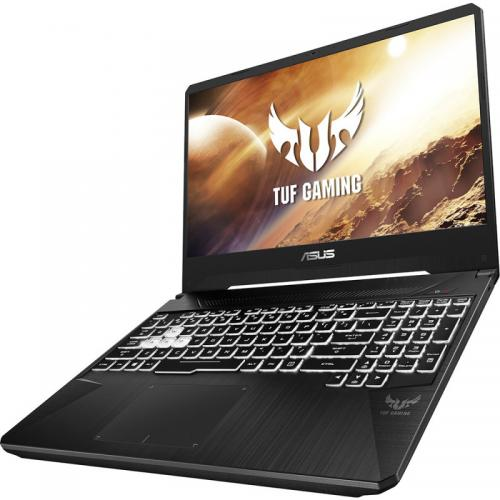 Laptop ASUS TUF Gaming FX505DV-AL004, AMD Ryzen 7 3750H, 15.6inch, RAM 8GB, SSD 512GB, nVidia GeForce RTX 2060 6GB, No OS, Stealth Black