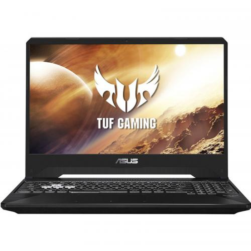 Laptop ASUS TUF FX505GT-HN100, Intel Core i7-9750H, 15.6inch, RAM 8GB, SSD 512GB, nVidia GeForce GTX 1650 4GB, No OS, Stealth Black