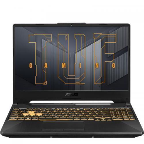 Laptop ASUS TUF Gaming A15 FA506QM-HN016, AMD Ryzen 7 5800H, 15.6inch, RAM 16GB, SSD 512GB, nVidia GeForce RTX 3060 6GB, No OS, Eclipse Gray