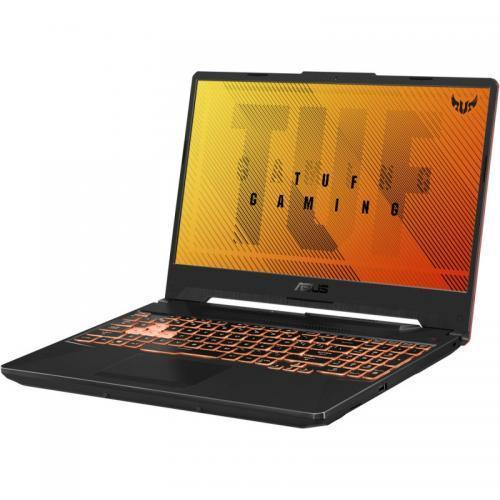 Laptop ASUS TUF Gaming F15 FX506LI-HN110, Intel Core i7-10870H, 15.6inch, RAM 16GB, SSD 1TB, nVidia GeForce GTX 1650 Ti 4GB, No OS, Bonfire Black