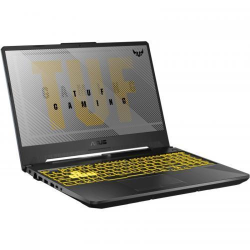 Laptop ASUS TUF Gaming F15 FX506LU-HN137, 15.6inch, Intel Core i7-10870H, RAM 8GB, HDD 1TB + SSD 256GB, nVidia GeForce GTX 1660 Ti 6GB, No OS, Fortress Gray