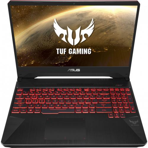 Laptop ASUS TUF Gaming FX505DT-AL027, AMD Ryzen 7 3750H, 15.6inch, RAM 8GB, SSD 512GB, nVidia GeForce GTX 1650 4GB, No OS, Black