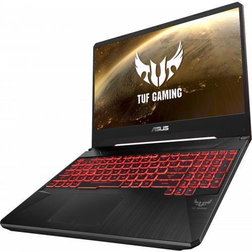 Laptop ASUS TUF Gaming FX505DT-BQ030, AMD Ryzen 7 3750H, 15.6inch, RAM 8GB, SSD 512GB, nVidia GeForce GTX 1650 4GB, No OS, Stealth Black
