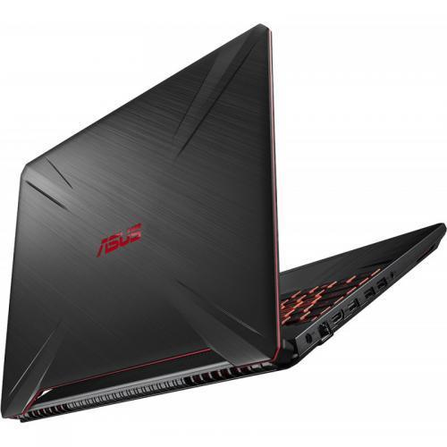 Laptop ASUS TUF Gaming FX505DT-BQ051, AMD Ryzen 5 3550H, 15.6inch, RAM 8GB, SSD 512GB, nVidia GeForce GTX 1650 4GB, No OS, Stealth Black