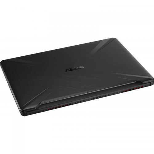 Laptop ASUS TUF Gaming FX505DT-HN536, AMD Ryzen 7 3750H, 15.6inch, RAM 8GB, SSD 512GB, nVidia GeForce GTX 1650 4GB, No OS, Stealth Black