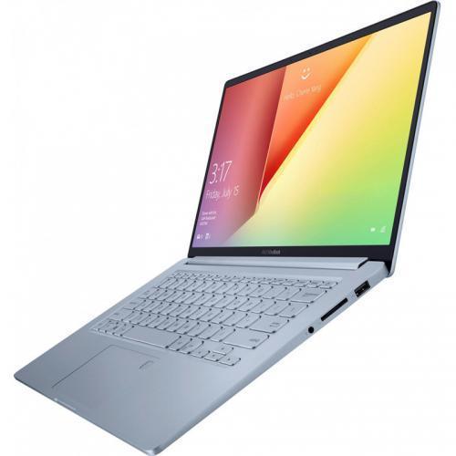 Laptop ASUS VivoBook 14 X403FA-EB164, Intel Core i7-8565U, 14inch, RAM 8GB, SSD 512GB, Intel UHD Graphics 620, Endless OS, Silver Blue