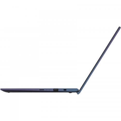 Laptop ASUS VivoBook 14 X412FA-EK565, Intel Core i3-8145U, 14inch, RAM 4GB, SSD 256GB, nVidia GeForce MX250 2GB, Peacock Blue