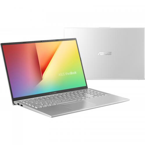 Laptop ASUS VivoBook 15 K512JA-EJ373R, Intel Core i3-1005G1, 15.6inch, RAM 8GB, SSD 256GB, Intel UHD Graphics, Windows 10 Pro, Transparent Silver