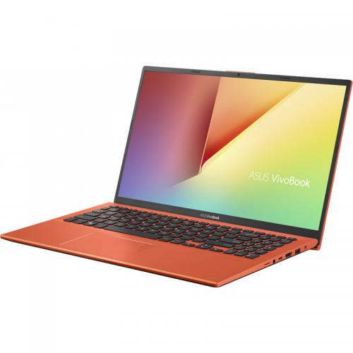 Laptop ASUS VivoBook 15 X512FA-EJ1222, Intel Core i3-8145U, 15.6inch, RAM 4GB, SSD 256GB, Intel UHD Graphics 620, No OS, Coral Crush