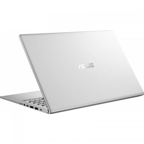 Laptop ASUS VivoBook 15 X512FA-EJ992, Intel Core i3-8145U, 15.6inch, RAM 4GB, SSD 256GB, Intel UHD Graphics 620, No OS, Transparent Silver