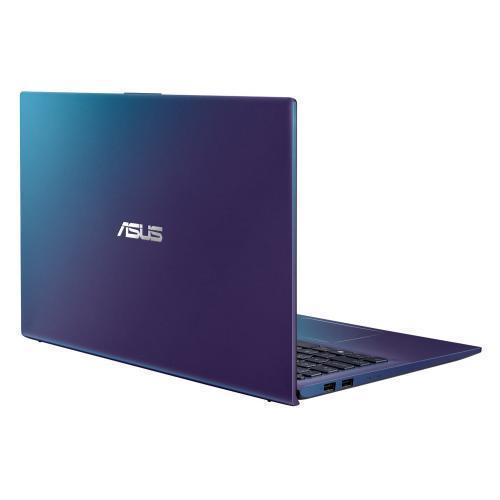 Laptop ASUS VivoBook 15 X512FJ-EJ324, Intel Core i5-8265U, 15.6inch, RAM 8GB, SSD 512GB, nVidia GeForce MX230 2GB, No OS, Peacock Blue