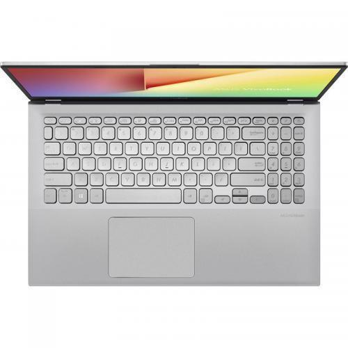 Laptop Asus VivoBook 15 X512FJ-EJ326, Intel Core i5-8265U, 15.6inch, RAM 8GB, SSD 512GB, nVidia GeForce MX230 2GB, No OS, Transparent Silver
