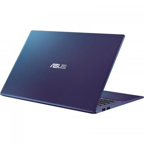 Laptop ASUS VivoBook 15 X512JA-EJ351, Intel Core i3-1005G1, 15.6inch, RAM 8GB, SSD 256GB, Intel UHD Graphics, No OS, Peacock Blue