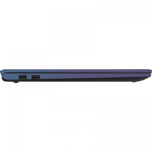 Laptop ASUS VivoBook 15 X512JA-EJ351T, Intel Core i3-1005G1, 15.6inch, RAM 8GB, SSD 256GB, Intel UHD Graphics, Windows 10 S, Peacock Blue