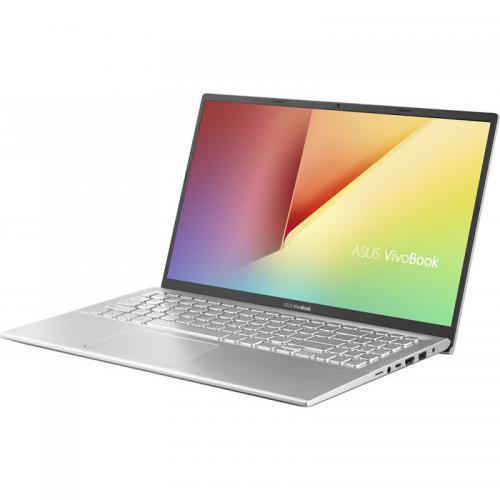 Laptop ASUS VivoBook 15 X512JA-EJ364, Intel Core i5-1035G1, 15.6inch, RAM 8GB, SSD 512GB, Intel UHD Graphics, No OS, Transparent Silver