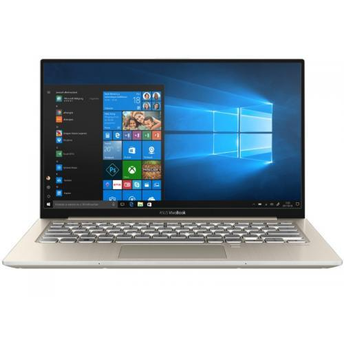 Laptop ASUS VivoBook S13 S330FA-EY020T, Intel Core i3-8145U, 13.3inch, RAM 4GB, SSD 128GB, Intel UHD Graphics, Windows 10 S, Icicle Gold