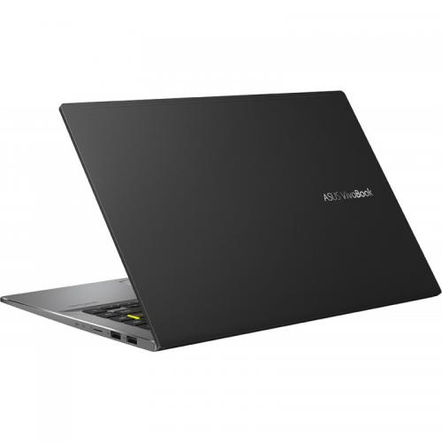 Laptop ASUS VivoBook S14 M433IA-EB202, AMD Ryzen 5 4500U, 14inch, RAM 8GB, SSD 512GB, AMD Radeon Graphics, No OS, Indie Black