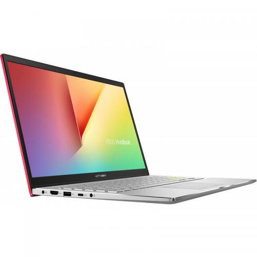 Laptop ASUS VivoBook S14 M433IA-EB203, AMD Ryzen 5 4500U, 14inch, RAM 8GB, SSD 512GB, AMD Radeon Graphics, No OS, Resolute Red