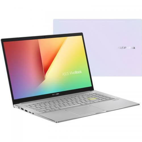 Laptop ASUS VivoBook S15 M533IA, AMD Ryzen 5 4500U, 15.6inch, RAM 8GB, SSD 512GB, AMD Radeon Graphics, No OS, Dreamy White