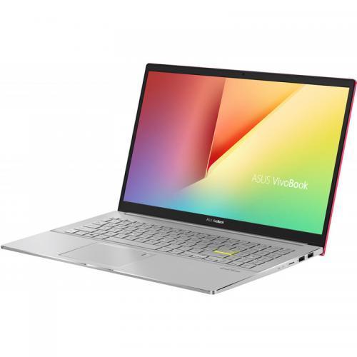Laptop ASUS VivoBook S15 M533IA-BQ043, AMD Ryzen 5 4500U, 15.6inch, RAM 8GB, SSD 512GB, AMD Radeon Graphics, No OS, Resolute Red