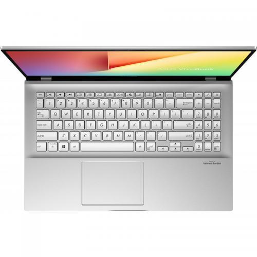 Laptop ASUS VivoBook S15 S531FA-BQ089, Intel Core i7-8565U, 15.6inch, RAM 8GB, SSD 512GB, Intel UHD Graphics 620, No OS, Transparent Silver