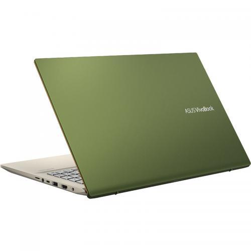 Laptop ASUS VivoBook S15 S532FA-BQ082R, Intel Core i7-8565U, 15.6inch, RAM 16GB, SSD 512GB, Intel UHD Graphics 620, Windows 10 Pro, Green