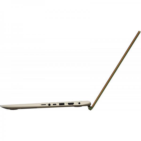 Laptop ASUS Vivobook S532EQ-BQ052T, Intel Core i5-1135G7, 15.6inch, RAM 8GB, SSD 512GB, nVidia GeForce MX350 2GB, Windows 10, Moss Green