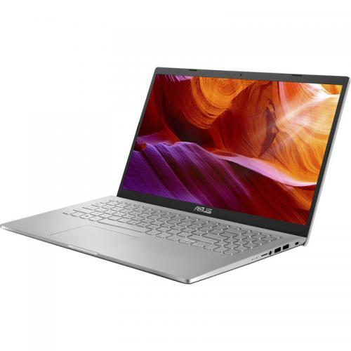 Laptop ASUS X509FA-EJ086R, Intel Core i7-8565U, 15.6inch, RAM 8GB, SSD 512GB, Intel UHD Graphics 620, Windows 10 Pro, Transparent Silver