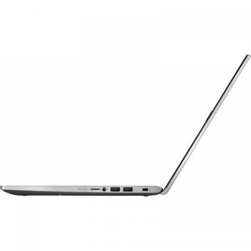 Laptop ASUS X509JA-EJ032, Intel Core i7-1065G7, 15.6inch, RAM 8GB, SSD 512GB, Intel Iris Plus Graphics, No OS, Transparent Silver