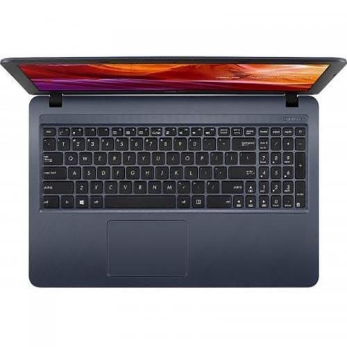 Laptop ASUS X543MA-GO833, Intel Celeron Dual Core N4000, 15.6inch, RAM 4GB, HDD 500GB, Intel UHD Graphics 600, Endless OS, Star Gray