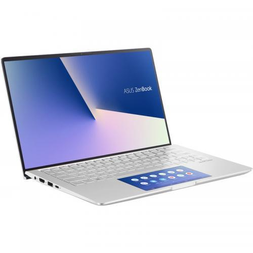 Laptop ASUS ZenBook 13 UX334FAC-A4051T, Intel Core i5-10210U, 13.3inch, RAM 8GB, SSD 512GB, Intel UHD Graphics 620, Windows 10, Icicle Silver