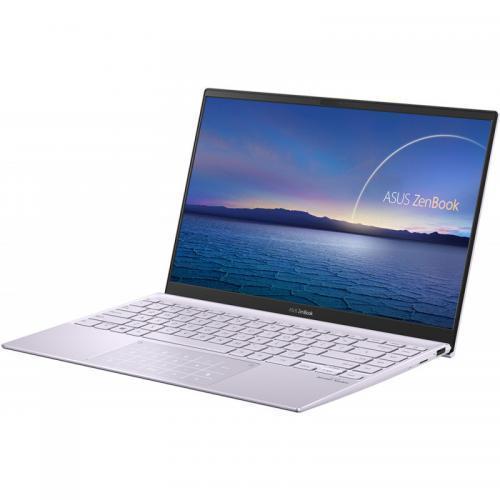 Laptop ASUS ZenBook 14 UM425IA-AM003R, AMD Ryzen 5 4500U, 14inch, RAM 8GB, SSD 512GB, AMD Radeon Graphics, Windows 10 Pro, Lilac Mist