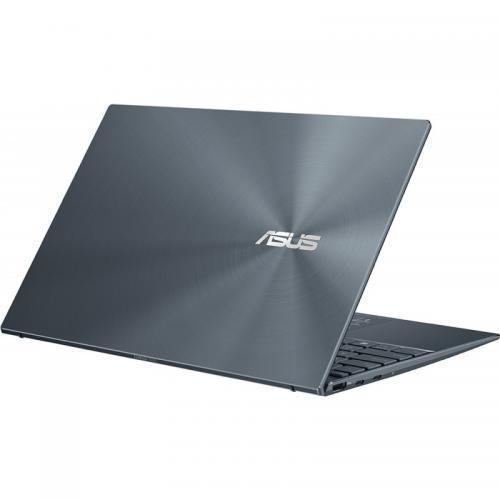 Laptop ASUS ZenBook 14 UM425IA-AM035R, AMD Ryzen 7 4700U, 14inch, RAM 8GB, SSD 512GB, AMD Radeon Graphics, Windows 10 Pro, Pine Grey