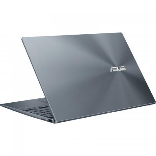 Laptop ASUS ZenBook 14 UM425IA-HM039R, AMD Ryzen 7 4700U, 14inch, RAM 8GB, SSD 512GB, AMD Radeon Graphics, Windows 10 Pro, Pine Grey