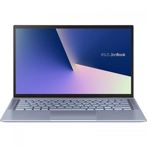Laptop ASUS ZenBook 14 UM431DA-AM029, AMD Ryzen 7 3700U, 14inch, RAM 16GB, SSD 512GB, AMD Radeon RX Vega 10, Endless OS, Utopia Blue