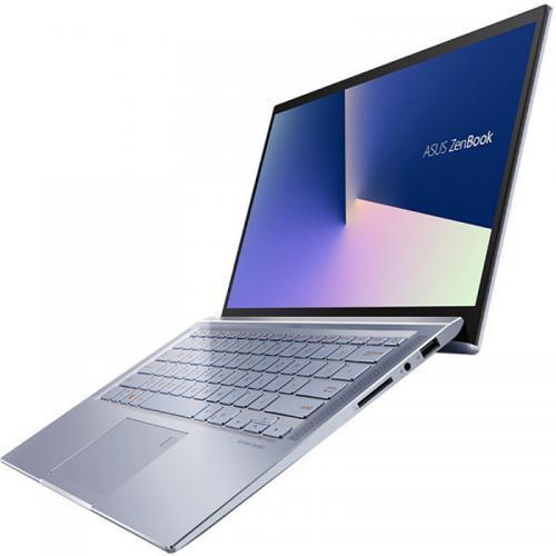 Laptop ASUS ZenBook 14 UM431DA-AM029T, AMD Ryzen 7 3700U, 14inch, RAM 16GB, SSD 512GB, AMD Radeon RX Vega 10, Windows 10, Utopia Blue